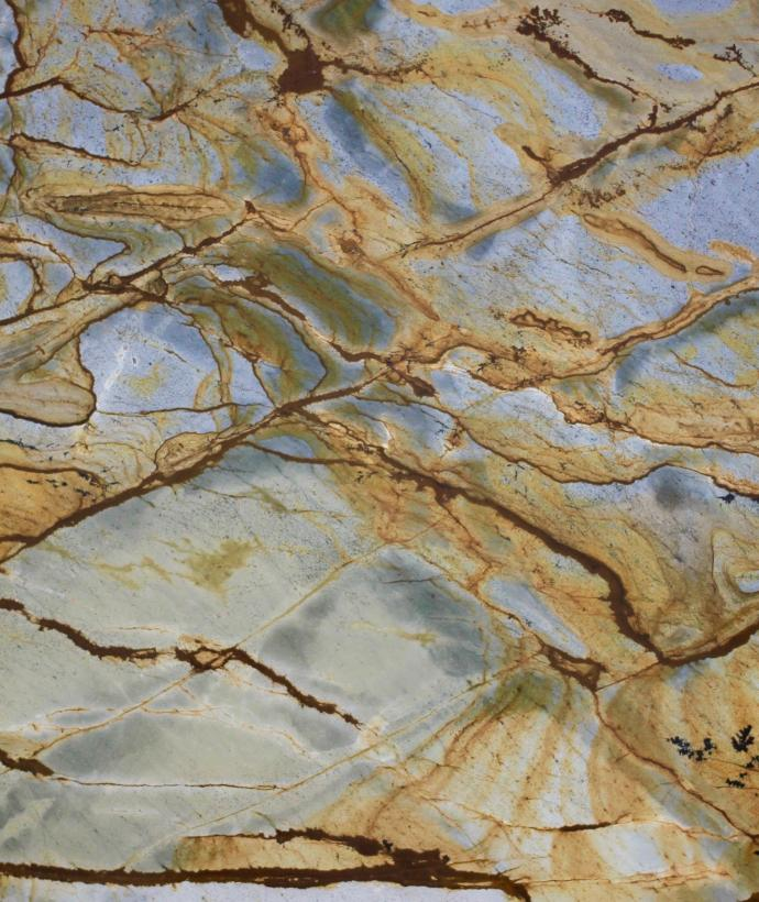 Blue Mare Quartzite Polished 20mm